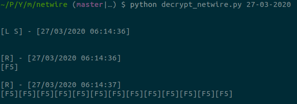 decryption example